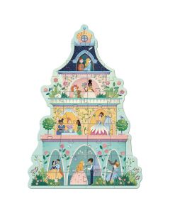 Djeco Giant Puzzle - The Princess Tower