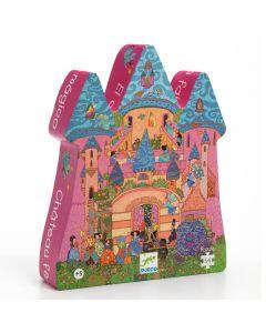 Djeco Puzzle Fairy Castle