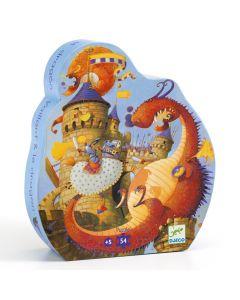 Djeco Puzzle - Vaillant and the Dragon
