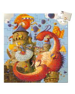 Djeco Puzzle - Vaillant and the Dragon