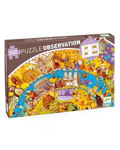 History + booklet - Djeco Observation Puzzle