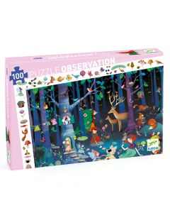 Enchanted Forest - Djeco Observation Puzzle