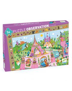 Djeco Observation Puzzle Princesses