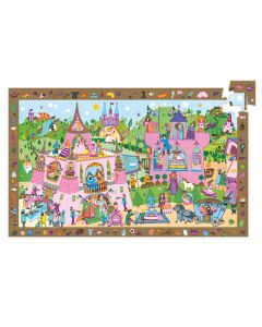 Djeco Observation Puzzle Princesses