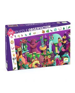 Djeco Observation Puzzle In a Video Game