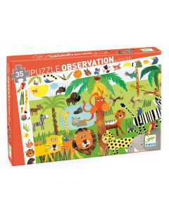 Djeco Observation Puzzle Jungle