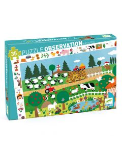 The Farm - Djeco Observation Puzzle