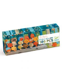 Forest Friends - Djeco Gallery Puzzle