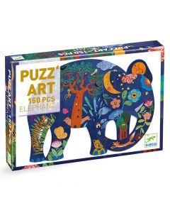 Djeco Puzzle Art - Elephant