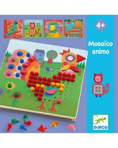 Djeco Animal Pegboard