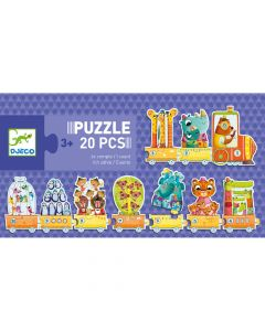Educational Toddler Puzzle - I Count by Djeco