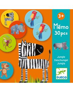 Djeco Memory Game Jungle