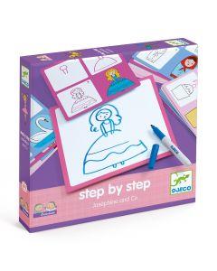 Learn To Draw - Djeco Step by Step Josephine