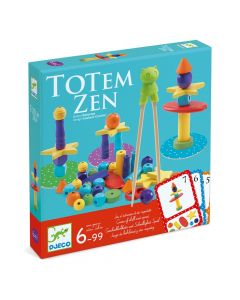Djeco - Totem Zen - A Game of Skill and Speed