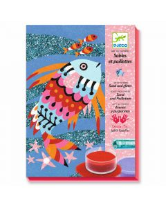 Djeco Coloured Sands Rainbow Fish