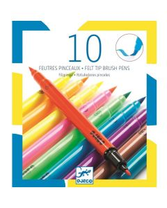 Djeco Felt Tips 10 Pop Colours