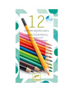 Djeco Watercolour Pencils Classic