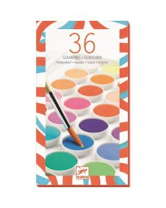 Djeco Paint Cakes 36 Colours