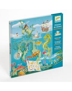 Djeco Sticker Stories - Adventures at Sea