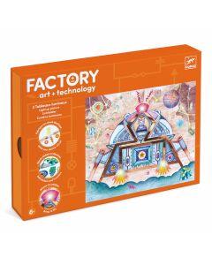 Djeco Factory Odyssey - light up cards