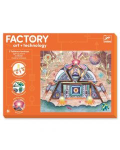 Djeco Factory Odyssey - light up cards
