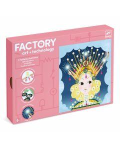 Djeco Factory Tiaras - light up cards