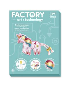Djeco Factory Unicorn Brooch To Light Up