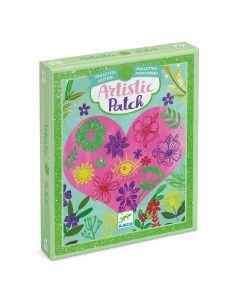 Djeco Artistic Patch Glitter Collages - Petals