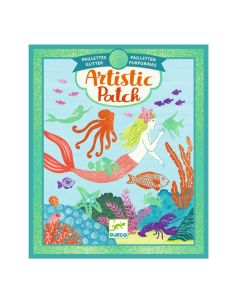 Djeco Artistic Patch Glitter Collages - Ocean