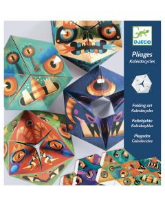 Fleximonsters - Djeco Folding Art