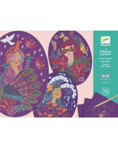 Djeco Scratch Cards - Nymphs