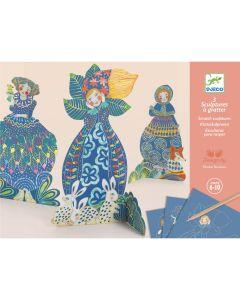 Djeco Scratch Cards - Pretty Dresses