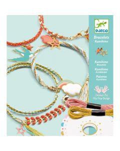 Djeco Kumihimo Bracelets - Celeste