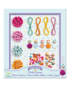 Djeco Jewellery Kit Beads and Figurines