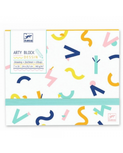 Djeco Arty Block - Drawing Paper