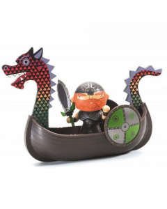 Djeco Arty Toys - Pirates Drack and Ze Drakkar