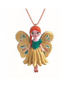 Djeco Butterfly Charm Necklace