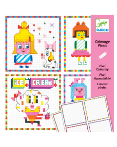 Djeco Colouring Surprises - Hipster Girls - SAVE 25%