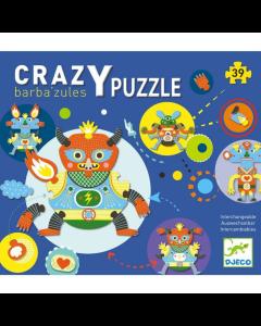 Djeco Crazy Puzzle Barba'zules