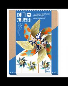 Djeco Do It Yourself - 4 Windmills to Create Pop