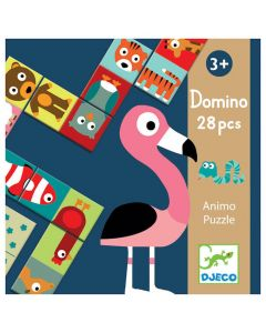 Djeco Dominoes - Animal Puzzle