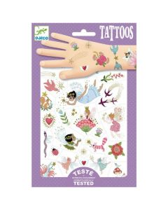Djeco Fairy Friends Temporary Tattoos DJ09599