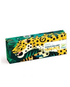 Djeco Gallery Puzzle - Leopard 1000 pcs