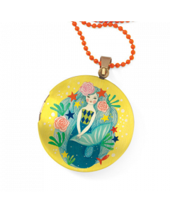 Djeco Lovely Paper - Lovely Surprise Mermaid Locket Necklace