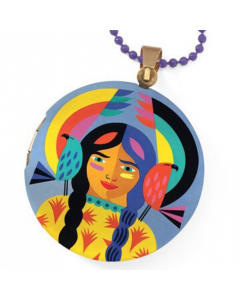 Djeco Lovely Paper - Lovely Surprise Totem Locket Necklace