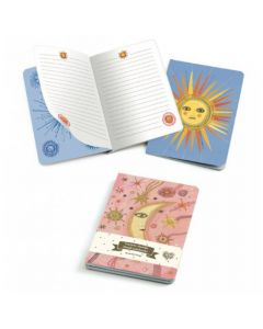 Aurelia Small Notebooks - Djeco Lovely Paper
