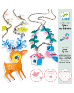 Djeco Magic Plastic the Fawn and the Bird