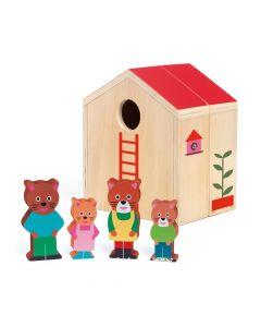 Djeco Wooden Mini House