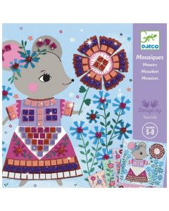 Djeco Mosaics - Lovely Pets