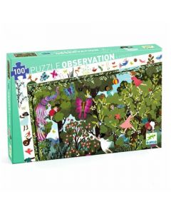 Djeco Observation Puzzles - Garden Play Time